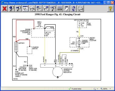 ford ranger ignition wiring diagram  2000 ford ranger ignition wiring diagram wiring diagram on 1998 ford ranger ignition wiring diagram