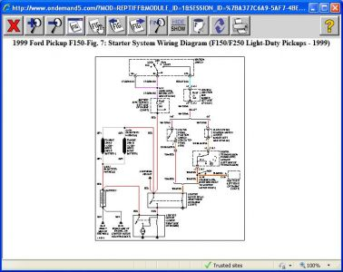 99 f150 wiring diagram 99 image wiring diagram 1999 ford f150 starter wiring diagram jodebal com on 99 f150 wiring diagram