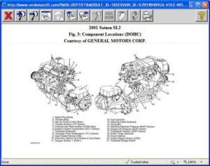 2001 Saturn SL2 Engine: Engine Performance Problem 2001 Saturn SL2