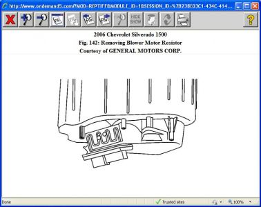 Blower Fan Wiring Diagram For Chevy 2006 Chevy Silverado Fan Motor Not Working After Having A