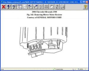 2006 Chevy Silverado Fan Motor Not Working: After Having a