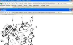 Purge Solenoid Valve Location: Six Cylinder Two Wheel