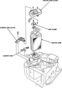 1997 Acura CL 1997 Acura CL Heater Core: Heater Problem
