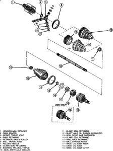2002 Dodge Intrepid Output Shaft Bearing: I Have the CV