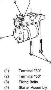 1997 Honda Passport Clicking Starter: Engine Mechanical