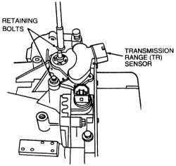 Ford c6 automotic floor shift linkage