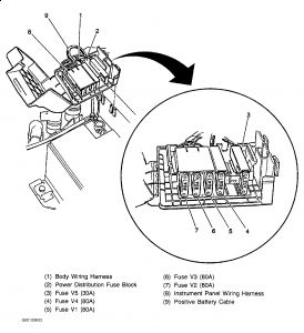 1998 Cadillac Catera: Engine Mechanical Problem 1998