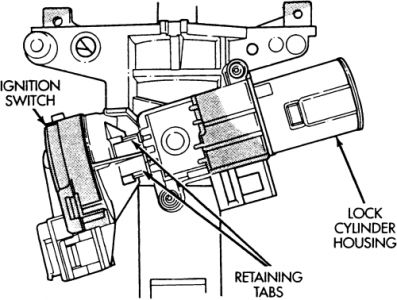 1997 Dodge Caravan: the Key Will Start the Engine but It