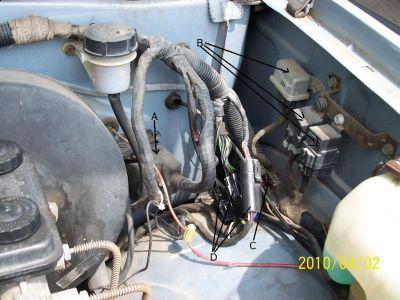 1993 Dodge Wiring Diagram 1989 Dodge Dakota Many Electrical Components Suddenly Inop