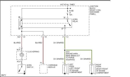 1998 jeep cherokee sport wiring diagram 1995 dodge dakota horn electrical problem 6 http www 2carpros com forum automotive pictures 512072 relay 1
