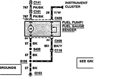 1988 Ford Ranger Fuel Pump Wiring Diagram, 1988, Free