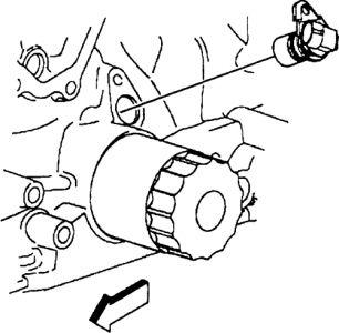 1997 Pontiac Sunfire Crankshaft Censer: Looking for Censer