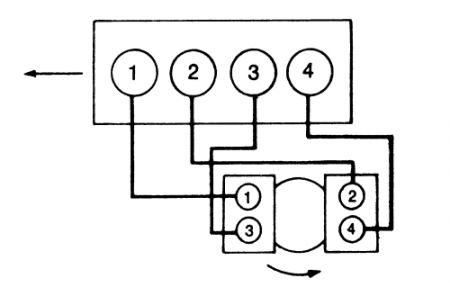 1994 Toyota Tercel Spark Plug Wires: Engine Mechanical