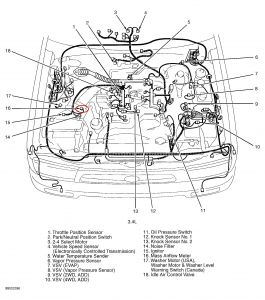 2000 Toyota 4Runner Mass Air Flow Sensor: Where Is the MAF