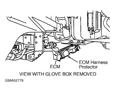 1999 Toyota Avalon Air Control Valve Location Picture
