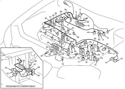 1999 Nissan Altima Idle Air Control Valve Location 1999