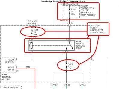 Dodge stratus wiring diagram for 2001 dodge stratus power window problems
