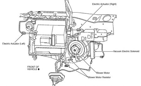 Ac Blower Fan Motor AC Electric Motors Wiring Diagram ~ Odicis