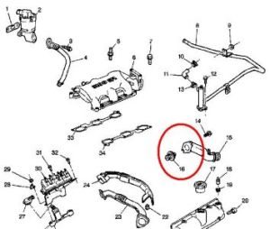 Thermostat: Engine Cooling Problem 6 Cyl Front Wheel Drive