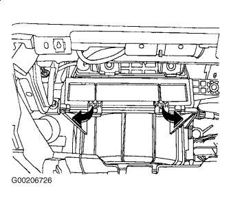 2004 Nissan Sentra Cabin Filter: Interior Problem 2004