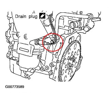 2004 Nissan Sentra Changing the Coolant: Where Is the