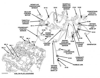 2004 Dodge 2 7 Liter Engine Coolant Diagram, 2004, Free