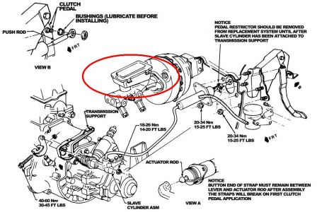 Service manual [Remove Transfer Case 1995 Oldsmobile Ciera