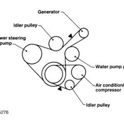 1997 Nissan Altima Engine Diagram Ac Motor Capacitor Wiring Drive Belts: Mechanical Problem ...