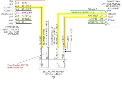 wiring diagram secondary o2 sensor wiring diagram secondary o2 universal oxygen sensor wiring diagram nilza net