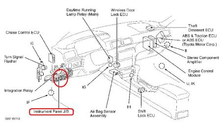 Wiring Diagram For 1998 Toyota Camry