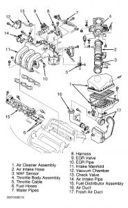 1999 Mazda 626 EGR Valve: Where Is the EGR Valve Located