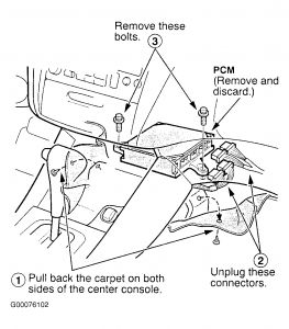 Service manual [1998 Honda Accord Removal Of Pcm