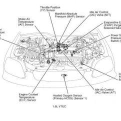 2004 Honda Odyssey Ac Wiring Diagram 2008 Dodge Ram 1998 Civic Idle Air Control System: Engine Mechanical ...