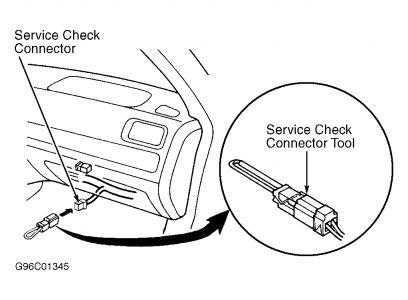 1997 Acura Integra DISTRIBUTOR REPLACEMENT: Engine