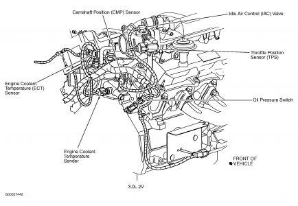 1999 Ford Taurus Cam Sensor: Engine Mechanical Problem