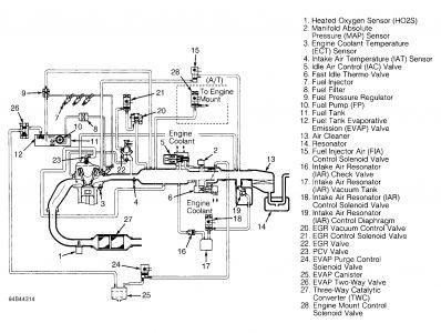 1994 Honda Accord HONDA VECI LABEL NEEDED: Electrical