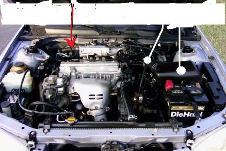 1995 toyota camry engine diagram mercruiser wiring 5 0 black smoke comes out of the tailpipe