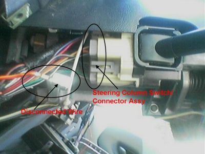 2007 F150 Fuse Box Diagram Tell Lights 1993 Ford Ranger Steering Column Switch Connnector Headli