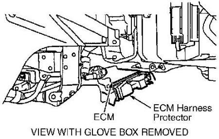 2000 Nissan Maxima Engine Control Module Nissan Maxima 2000