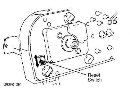 1988 Dodge Ram Maint. Req. Light: How Do I Reset the Maint