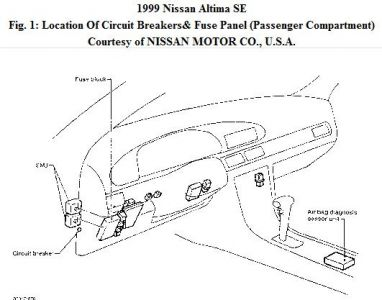 2014 Nissan Altima Parts Diagram