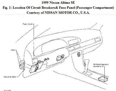 nissan xterra stereo wiring diagram fujitsu air conditioner fuse box on altima all data 1999 125 000mi can anyone tell me where i buick lesabre
