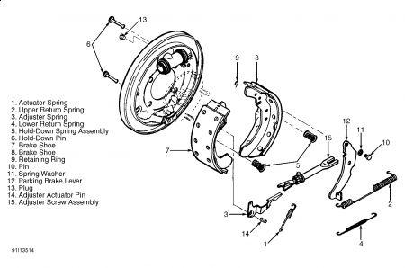 1996 Chevy Suburban Rear Break Assamly Drawing: Do You