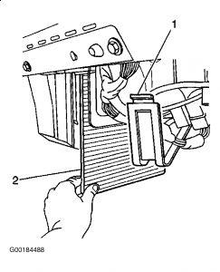 1999 Chevy Suburban Cabin Filter: Interior Problem 1999