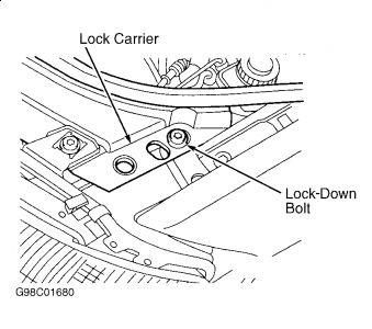 1999 Audi A6 CHANGE ALTERNATOR: Engine Mechanical Problem
