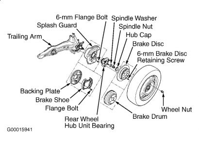 2000 Honda Accord Repair: Drive Train Axles Bearings