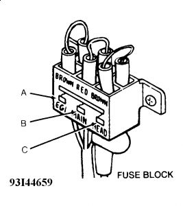 1991 Ford Festiva Fusible Links: Electrical Problem 1991