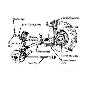 98 Honda Accord Front Suspension Diagram 93 Honda Accord
