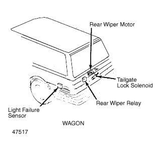 1988 Toyota Camry No Brake Lights Camry Wagon