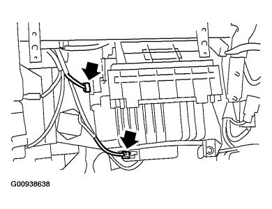 2004 Subaru Forester Noise/vibration: When the Heater/ac